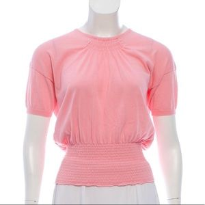 Prada knit short sleeve top